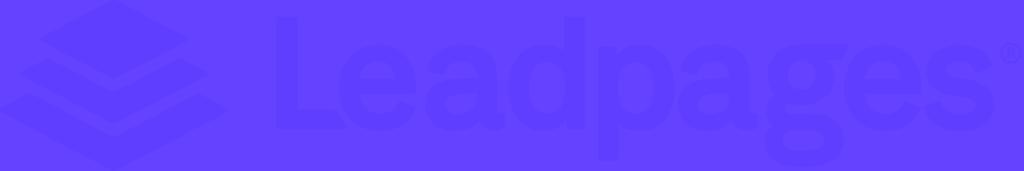 Leadpages logo purple
