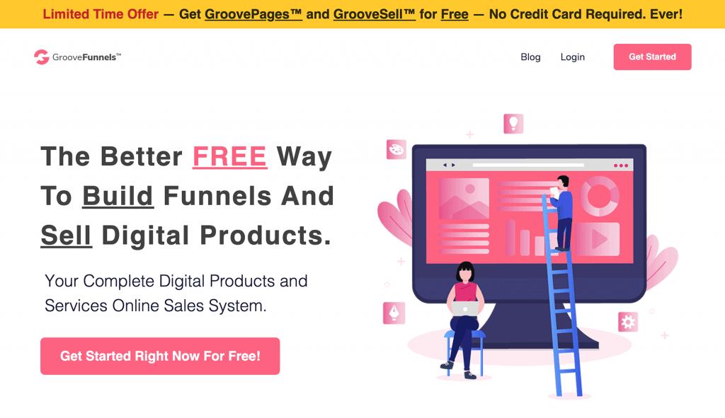 GrooveFunnels Funnel Builder