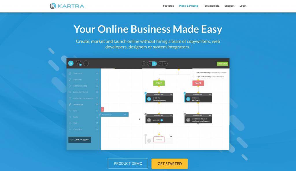 Kartra Online Business Tools