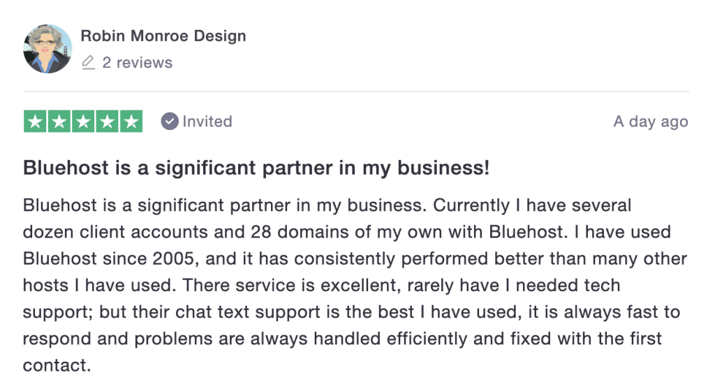 Bluehost Reviews: Excellent Customer Support