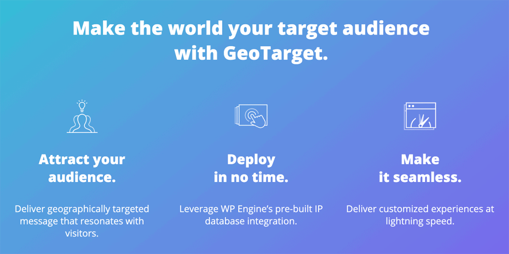 GeoTarget Features