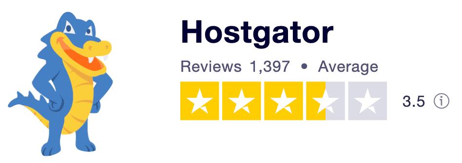 HostGator Trustpilot Reviews