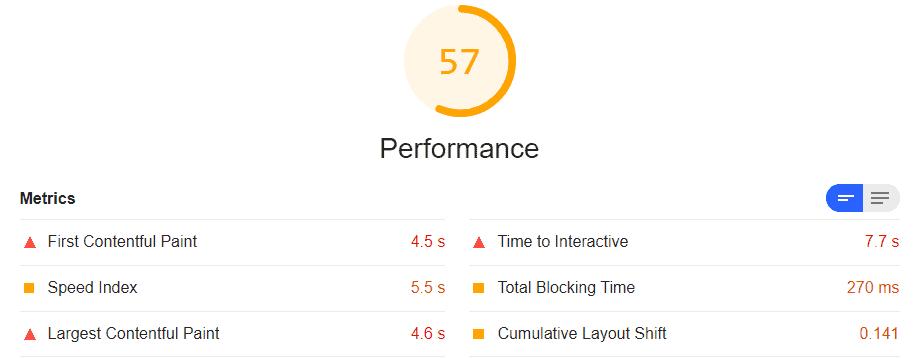 WebDev HostGator Speed Test