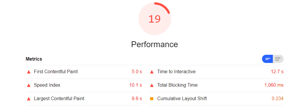 SiteGround Speed Test (Web Dev)