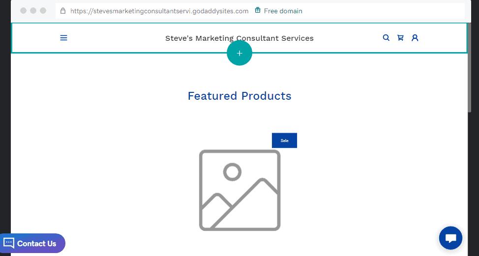 eCommerce Store on GoDaddy