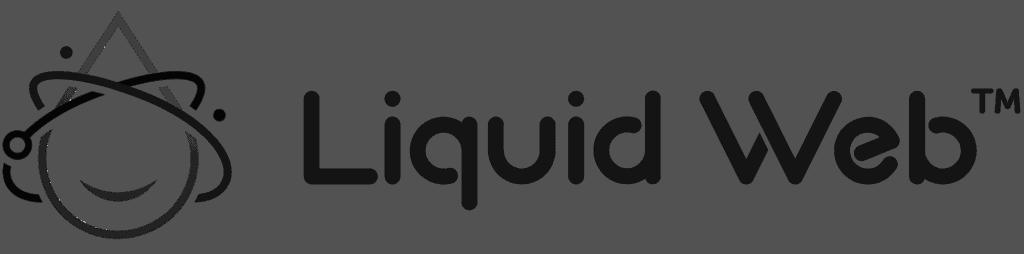 Liquid Web Logo BW