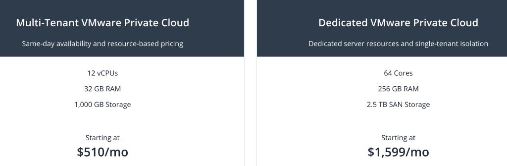 Liquid Web VMware Private Cloud